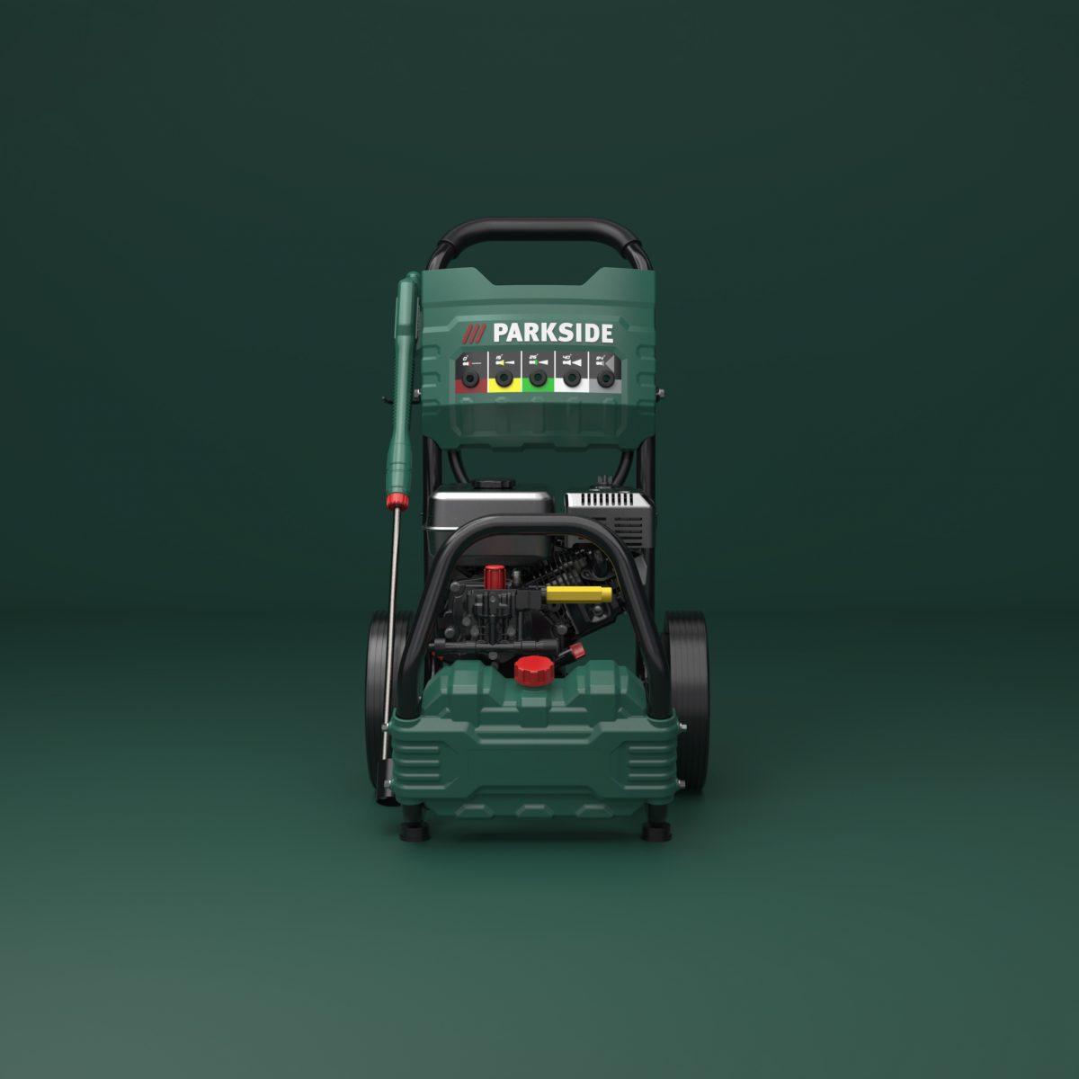 parkside_petrol_pressure_washer_industrialdesign_front