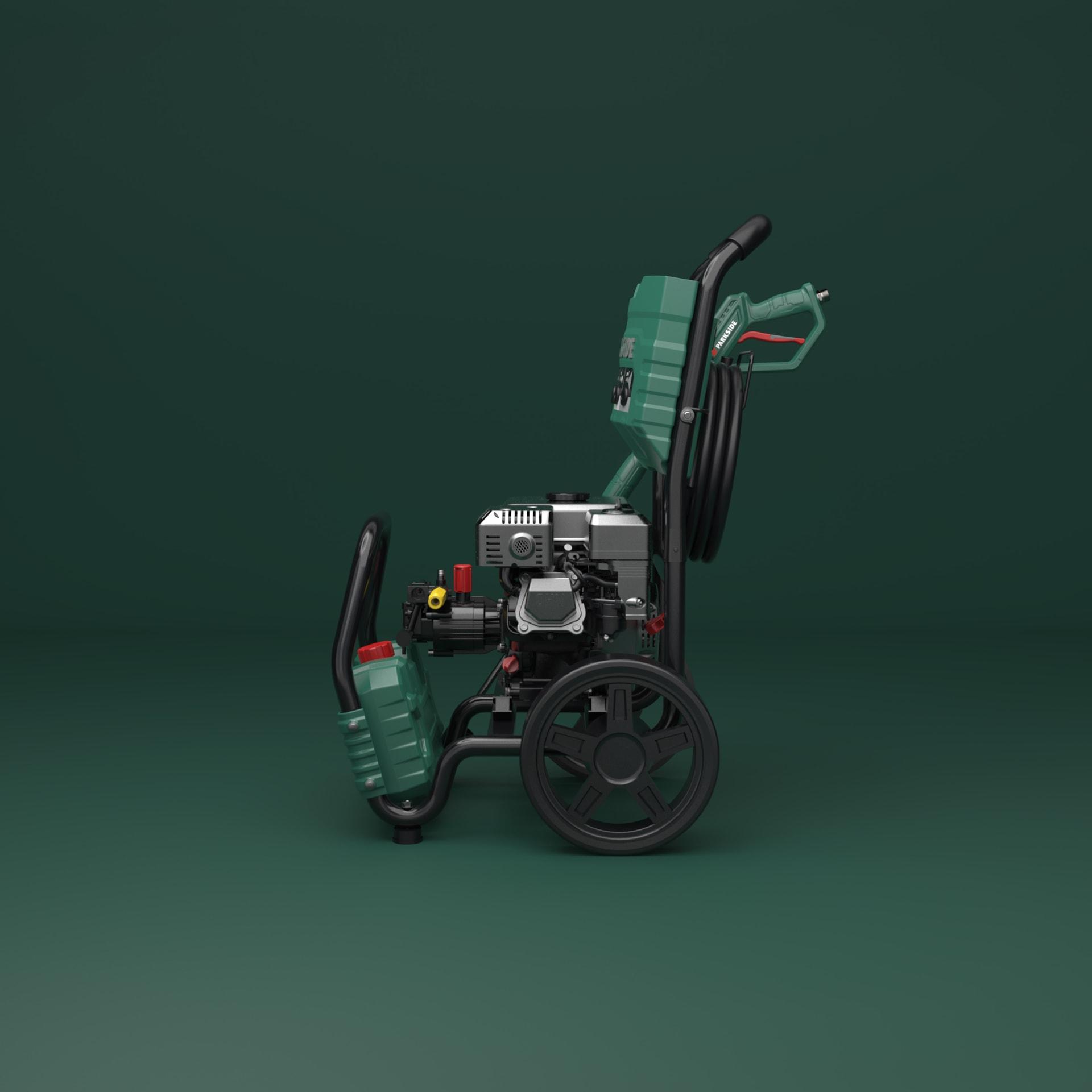 parkside_petrol_pressure_washer_industrialdesign_right
